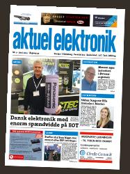 Aktuel Elektronik avisforside